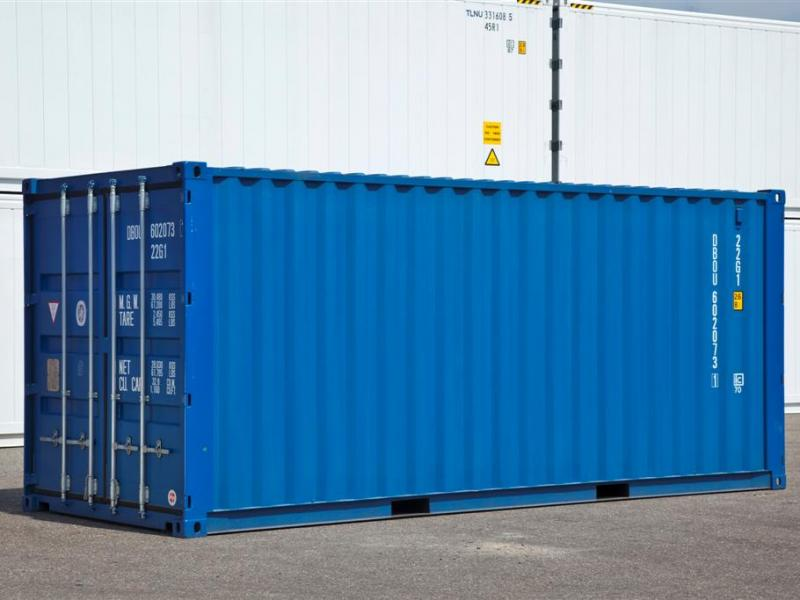 Maten zeecontainer 20ft